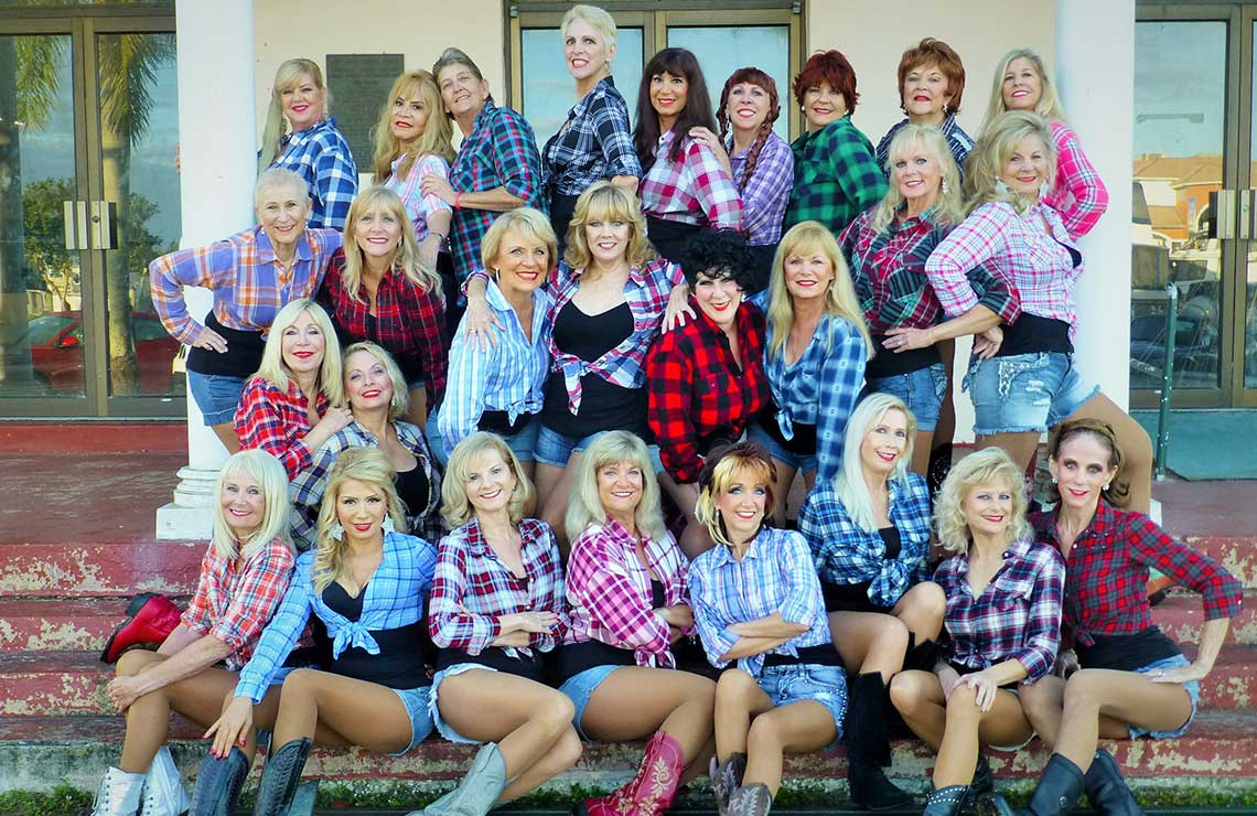 Senior Calendar Girls Florida